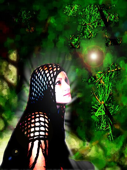 Waiting in the Enchanted Forest by Gal Lo Leggio