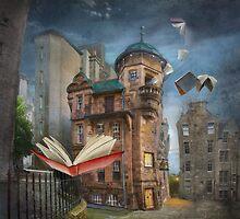 """Writers' Museum"" by Matylda  Konecka Art"