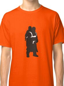 Hodor and Brann - Game of Thrones Silhouette Classic T-Shirt