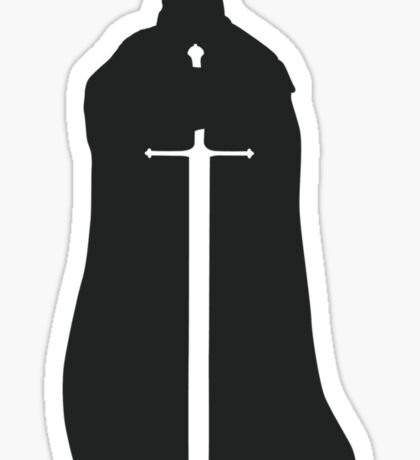 Eddard Stark - Game of Thrones silhouette Sticker