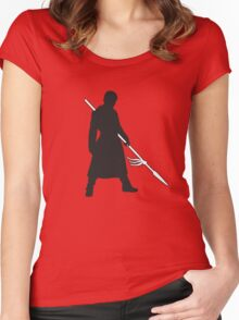 Prince Oberyn - Game of Thrones Silhouette Women's Fitted Scoop T-Shirt