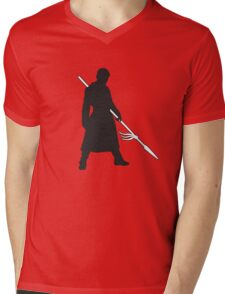 Prince Oberyn - Game of Thrones Silhouette Mens V-Neck T-Shirt