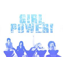 Spice Girls/Girl Power (Blue) by wonkyash