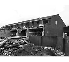 Under Demolition Photographic Print