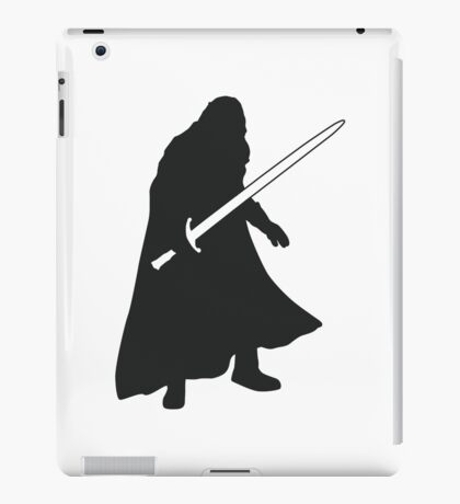 Jon Snow - Game of Thrones Silhouette iPad Case/Skin