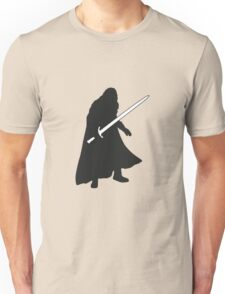 Jon Snow - Game of Thrones Silhouette Unisex T-Shirt