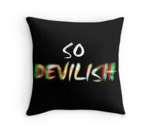 Devilish Throw Pillow