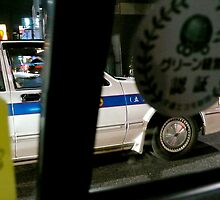 INSIDE A TOKYO TAXI by brightspark