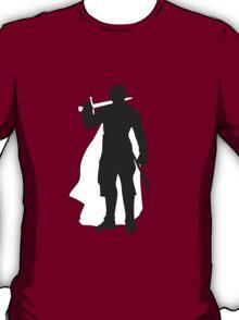 Jaime Lannister Kingslayer - Game of Thrones Silhouette T-Shirt