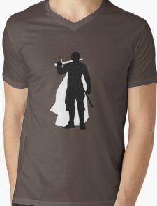 Jaime Lannister Kingslayer - Game of Thrones Silhouette Mens V-Neck T-Shirt