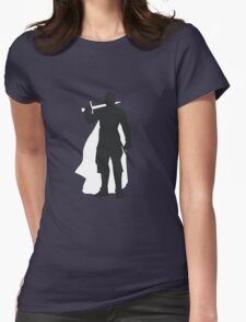 Jaime Lannister Kingslayer - Game of Thrones Silhouette Womens Fitted T-Shirt