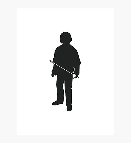 Arya Stark  - Game of Thrones Silhouette Photographic Print