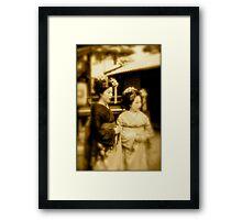 JAPANESE GEISHAS Framed Print