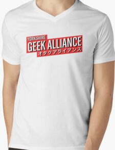 Yorkshire Geek Alliance Logo Mens V-Neck T-Shirt