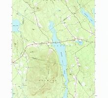 Maine USGS Historical Map Pleasant Mtn 102886 1963 24000 by wetdryvac