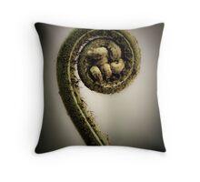 Life's Great Curve Throw Pillow
