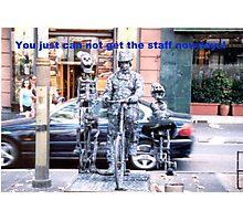 Skeleton Crew Photographic Print