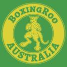 Boxing Kangaroo Logo by BoxingRoo