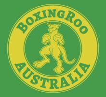 Boxing Kangaroo Logo Kids Clothes