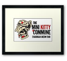 Great Leader of the Generation - Chairman Meow Senior Framed Print
