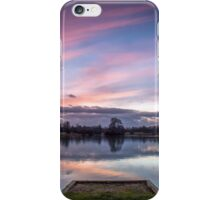 Watching the world go by iPhone Case/Skin