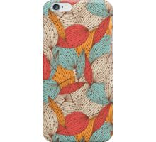 Romantic leaves iPhone Case/Skin
