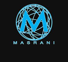 Masrani Blue 2 Men's Baseball ¾ T-Shirt