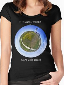 The Small World of Cape Cod Light Women's Fitted Scoop T-Shirt