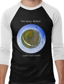 The Small World of Cape Cod Light Men's Baseball ¾ T-Shirt