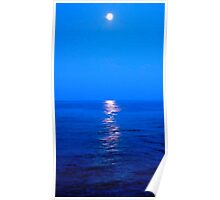 LIGURIAN MOONLIGHT Poster