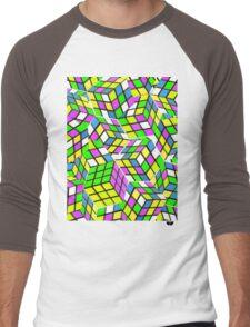 Rubix Men's Baseball ¾ T-Shirt