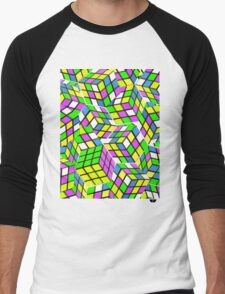 Rubix Men's Baseball ¾ T-Shirt
