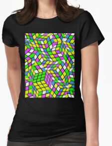 Rubix Womens Fitted T-Shirt