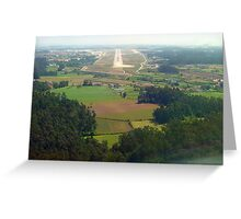 Oporto ILS  rwy 17 Greeting Card