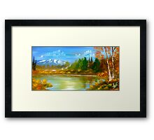 Autumn Landscape Framed Print