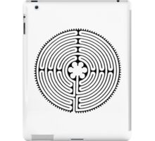 Chartres Labyrinth iPad Case/Skin