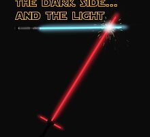The Dark side... and the Light by LarrysArt