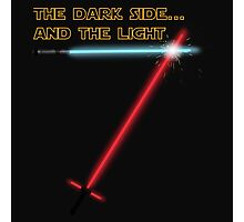 The Dark side... and the Light Photographic Print
