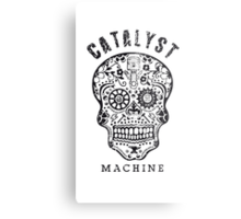 "Catalyst Machine ""GEARHEAD"" Metal Print"