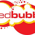 Red Bubble Logo by Kat Massard