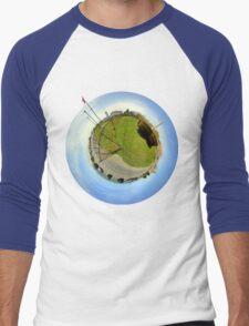The Small World of Chatham Light Men's Baseball ¾ T-Shirt