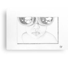 'goggle boy' Canvas Print