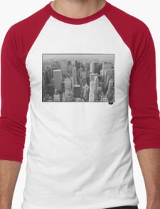 New York Men's Baseball ¾ T-Shirt