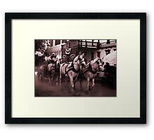 The Wagoneers Framed Print