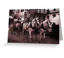 The Wagoneers Greeting Card