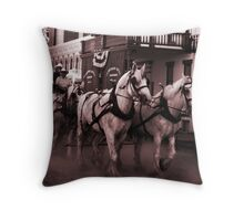 The Wagoneers Throw Pillow