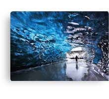 This home on ice Canvas Print