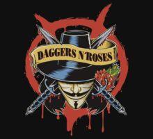 DAGGERS N´ ROSES T-Shirt