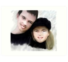 Jay and Kaylee 2 Art Print