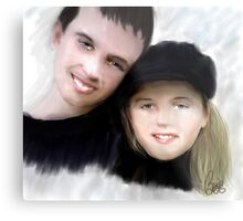 Jay and Kaylee 2 Metal Print